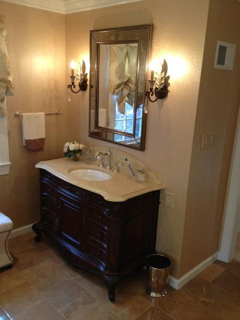 Versailles in Vienna, Virginia traditional-bathroom