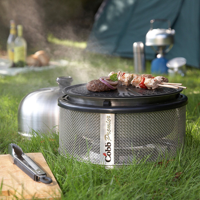 Cobb Barbecue Cooking System contemporary-outdoor-grills
