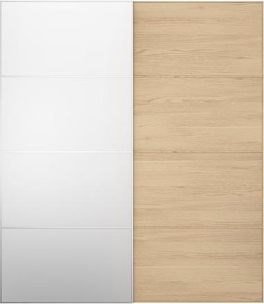 PAX MALM Pair of sliding doors modern-dressers