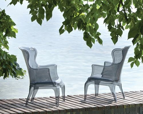 Pedrali - Pasha Lounge Chair contemporary-outdoor-lounge-chairs