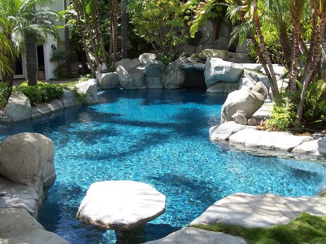 Bead Crete 'Caribbean Blue' tropical-hot-tub-and-pool-supplies