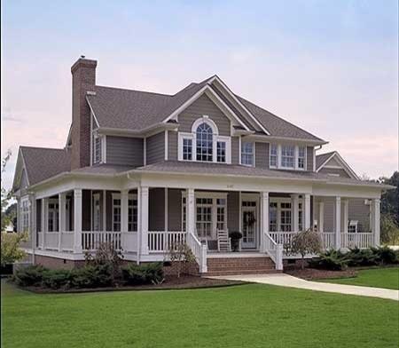 Love Farm House With Wrap Around Porch