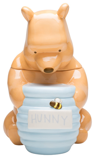 Winnie The Pooh Shaped Cookie Jar Contemporary Food