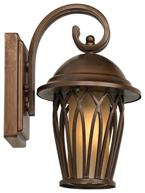 transitional john timberland arches 11 high outdoor wall light. Black Bedroom Furniture Sets. Home Design Ideas