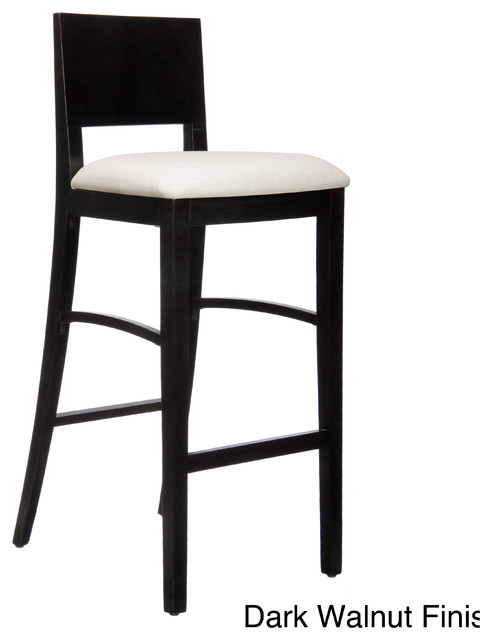Con Upholstered Bar Stool Contemporary Bar Stools And