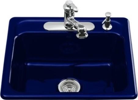kohler k 5964 4 30 mayfield self kitchen sink with