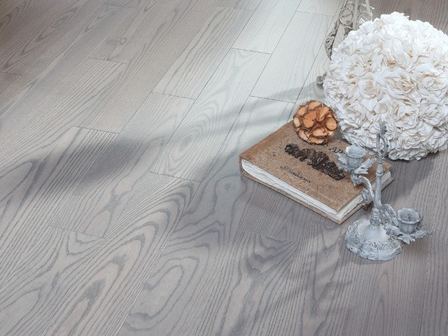 Ash Silvery - matte lacquer hardwood flooring - Contemporary - Hardwood Flooring - toronto - by ...