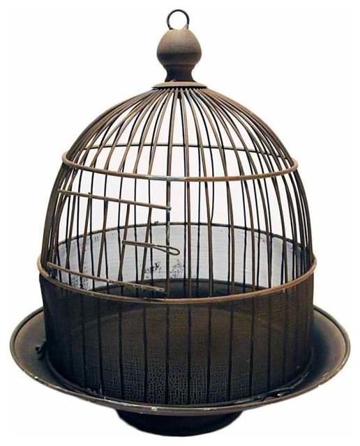 Wire Dome Birdcage mediterranean-home-decor