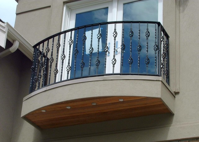 juliet balcony railing outdoor products portland by On juliet balcony railings