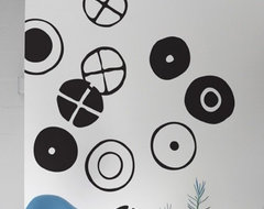 Eames Circles ~ Large Wall Decals modern-decals