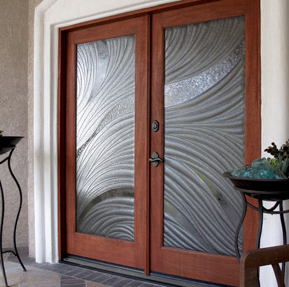 Double Entry Doors With Glass : Double entry doors contemporary san diego by cast