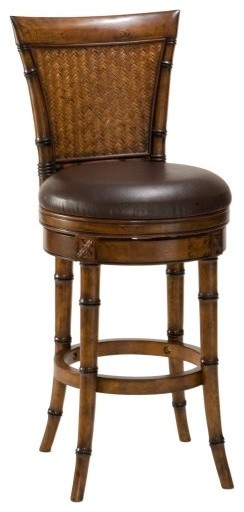 Hillsdale 24-Inch Santiago Swivel Counter Stool traditional bar stools and counter stools
