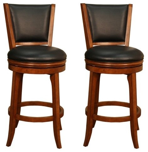 AHB Peyton Bar Stools - Set of 2 modern-bar-stools-and-counter-stools