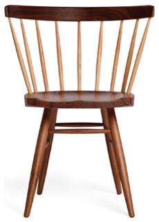Nakashima Straight Chair modern-living-room-chairs