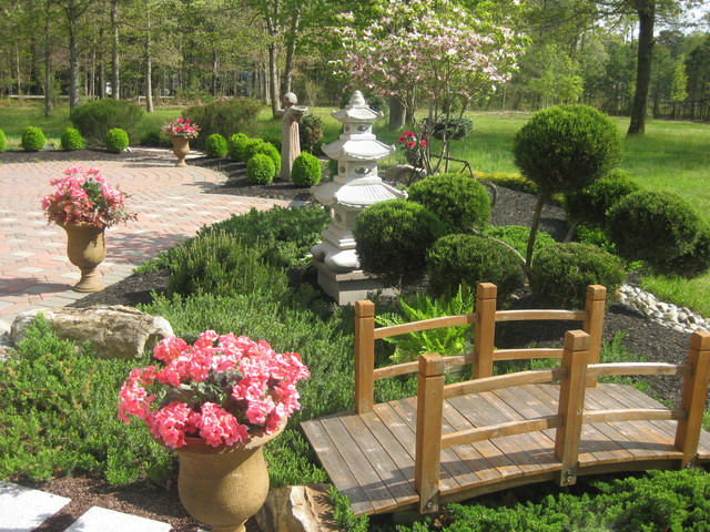 Modern japanese garden design landscape other metro - Japanese home garden design ...