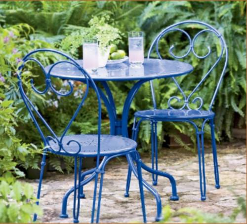 Bistro Set Eclectic Outdoor Pub And Bistro Sets by Gardener s Suppl