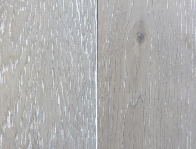 Garrison Ii White Wash Grey Contemporary Hardwood