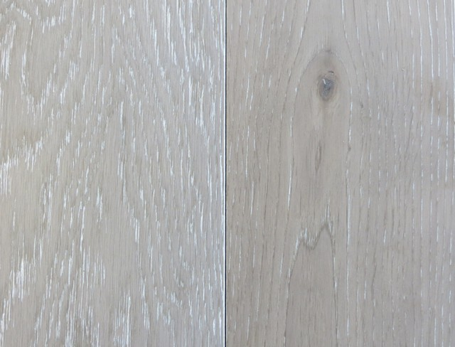 Garrison Ii White Wash Grey Contemporary Hardwood
