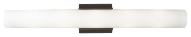 "Tech Lighting Solace 26"" Wide Antique Bronze Bath Light transitional-bathroom-vanity-lighting"