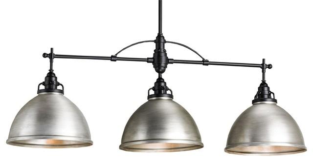 Ruhl Rectangular Chandelier contemporary-pendant-lighting