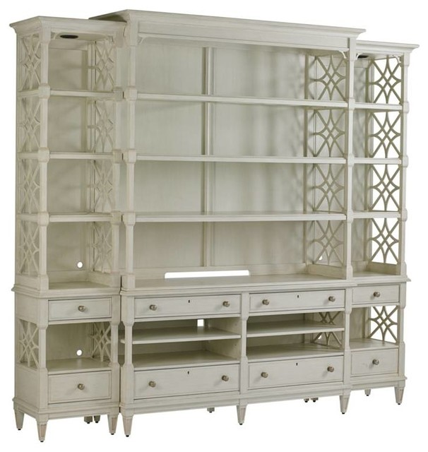 Preserve-Pavillion Media Bookcase - Traditional - Media Cabinets - by Stanley Furniture Co Inc
