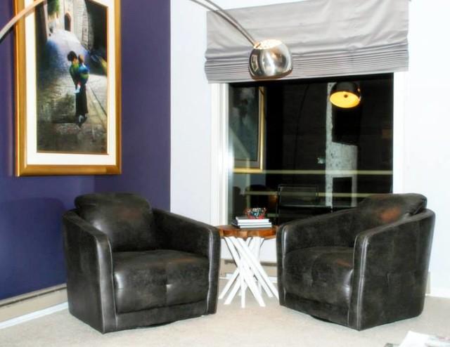 Dillon Ski Condo Design Transitional Living Room