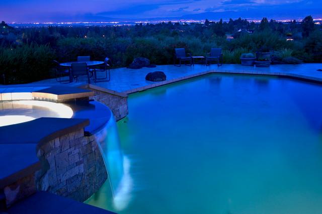 Los Altos Hills Residence contemporary-pool