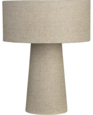Lite Linen Shade Lamp contemporary-lamp-shades
