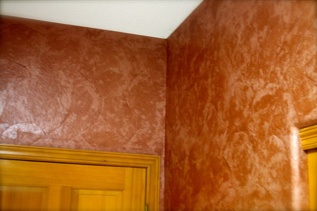 Torn brown paper wallpaper denver by jaime richards - Brown paper bag walls ...