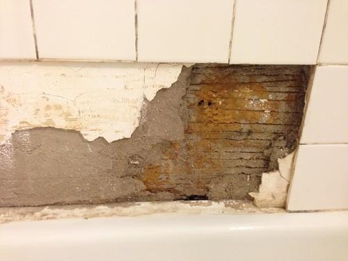 Repairing Bathroom Plaster For Tiling