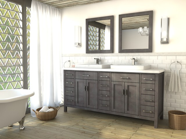 Studio Bathe Vanities - contemporary - bathroom vanities and sink