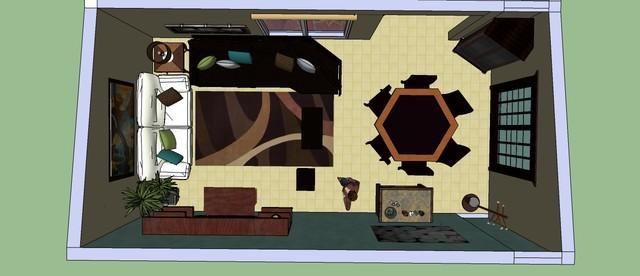 Proyecto de dise o y decoraci n de rea social en casa for Diseno de casa habitacion
