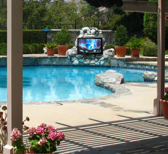 Storm Outdoor Television  pool