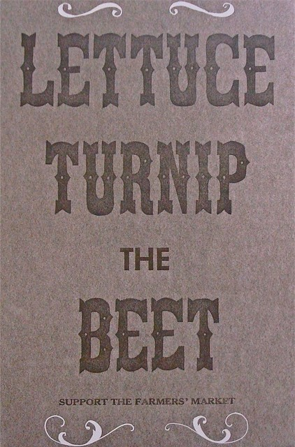 Lettuce Turnip the Beet by Quail Lane Press eclectic artwork