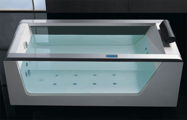 Eago AM152 6 39 Luxury Clear Whirlpool Hot Tub With Stereo
