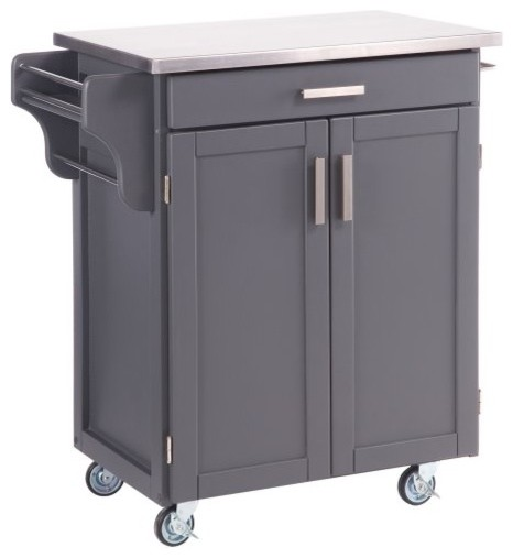 Design Your Own Kitchen Cart Contemporary Kitchen Islands And Kitchen Carts By Hayneedle