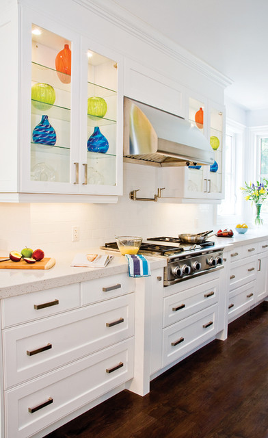Bedford Latte contemporary kitchen cabinets