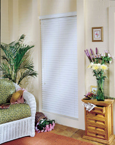 Comfortex Woodwinds Plantation 2 1/2-inch ShutterBlinds contemporary-window-blinds