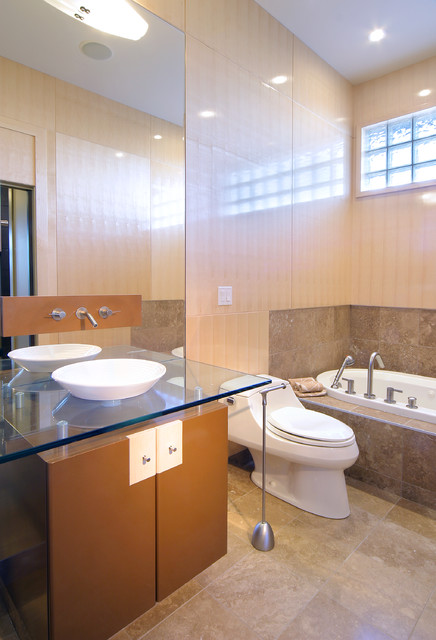 CAMERON HEIGHTS SHOW HOME - Contemporary - Bathroom - edmonton