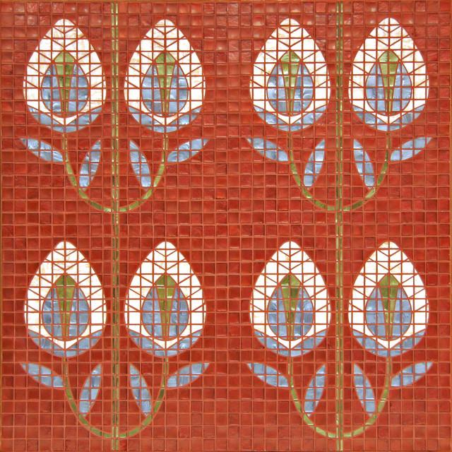 Studio V151 - Crocus Pattern eclectic-tile