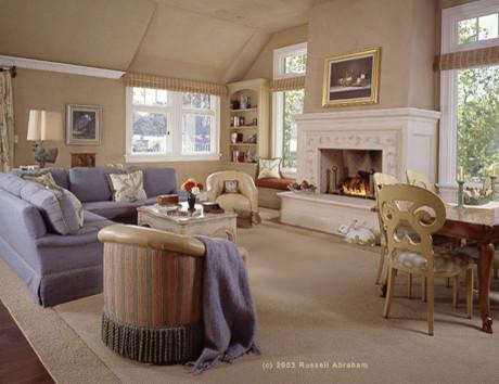 Woodside Residence II traditional-living-room