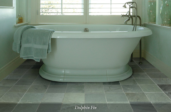 American Slate Dolphin Fin contemporary-wall-and-floor-tile