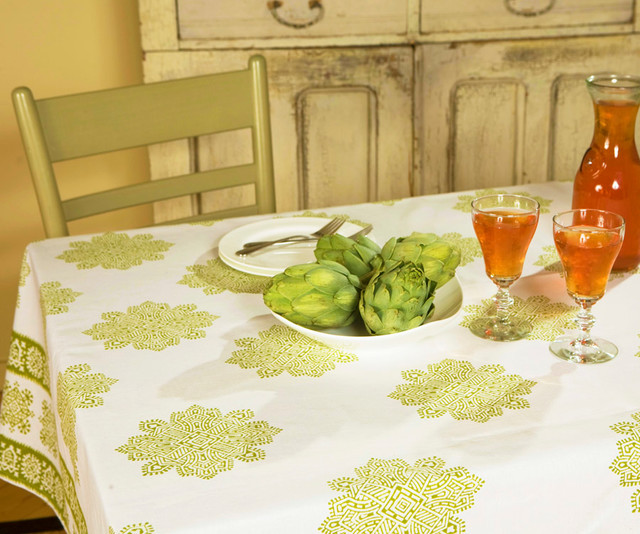 Luxury  Table Linens tropical-home-decor