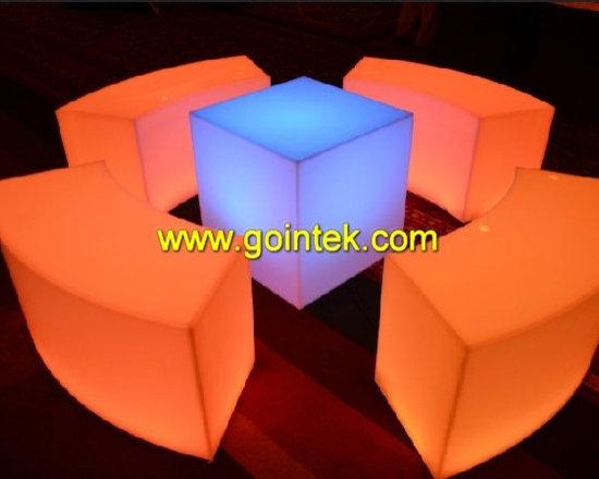 fashionable led furniture for event decoration -
