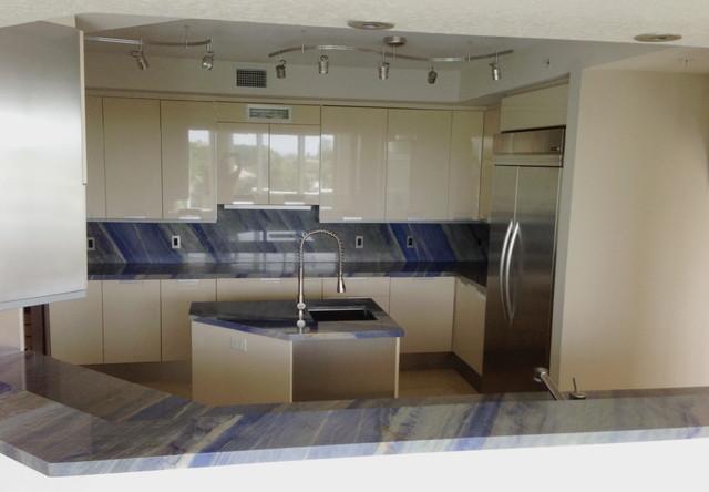 Dennis Kamper - Modern - Kitchen Countertops - other metro - by ...