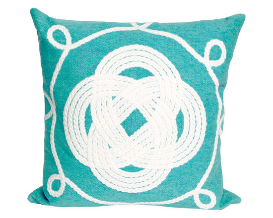 Liora Manne Ornamental Knot Throw Pillow