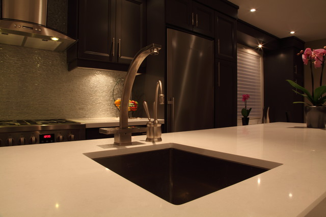 North York Bungalow contemporary-kitchen-faucets