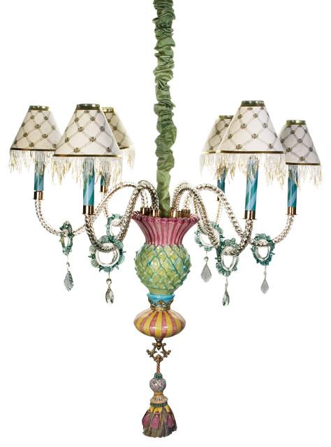 Thistle Chandelier | MacKenzie-Childs eclectic-chandeliers