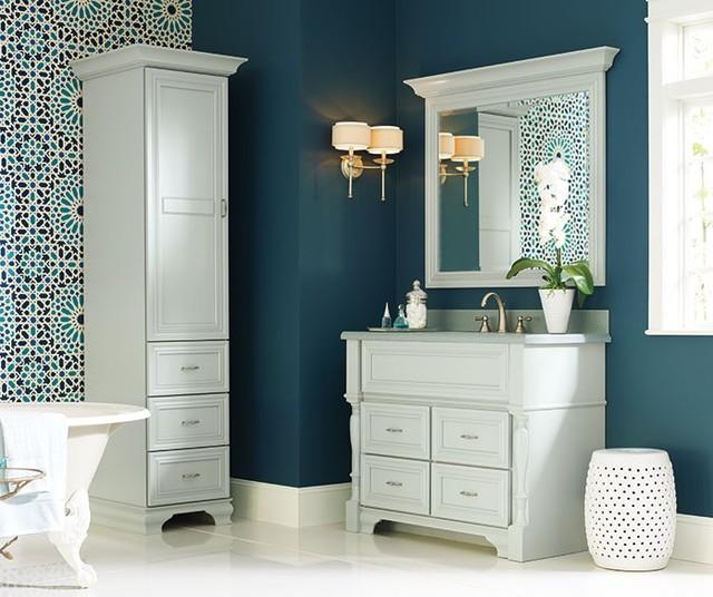 omega bathroom collection traditional bathroom vanities and sink