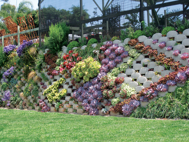 Verdura Plantable Retaining Wall Contemporary landscaping